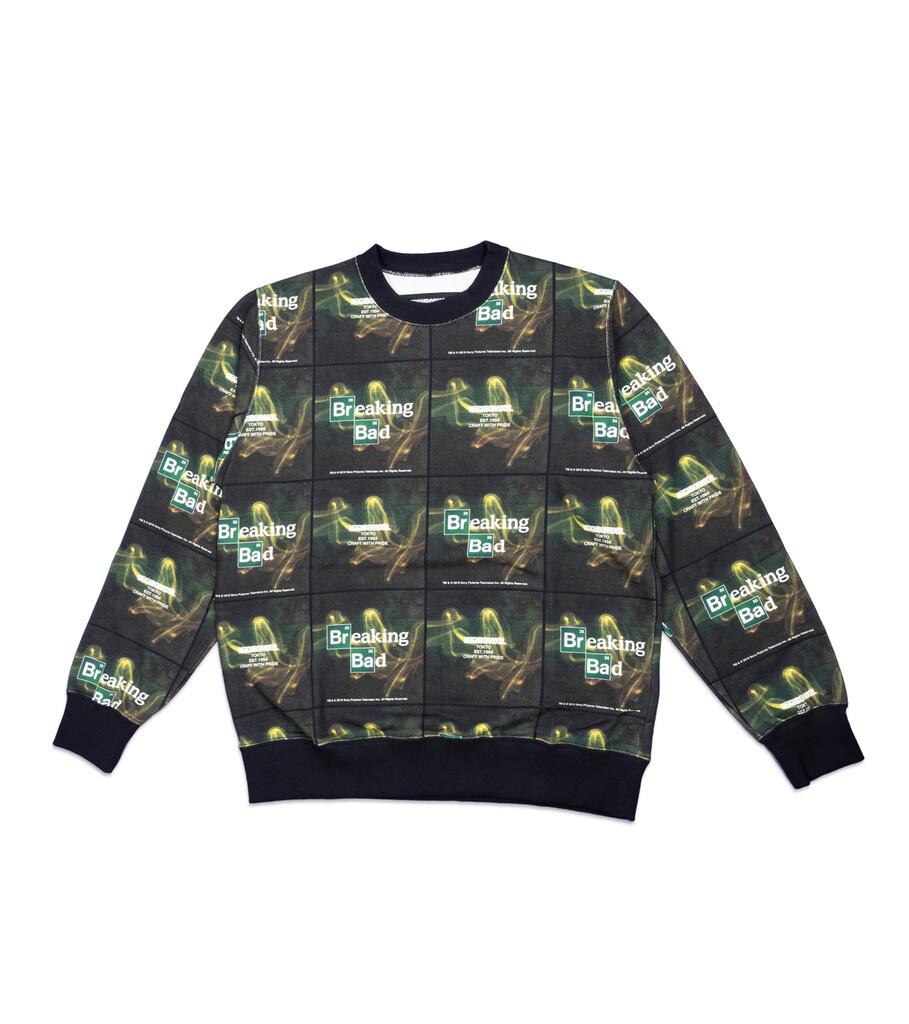 "Breaking Bad AOP Logo Sweatshirt ""Black""-1"