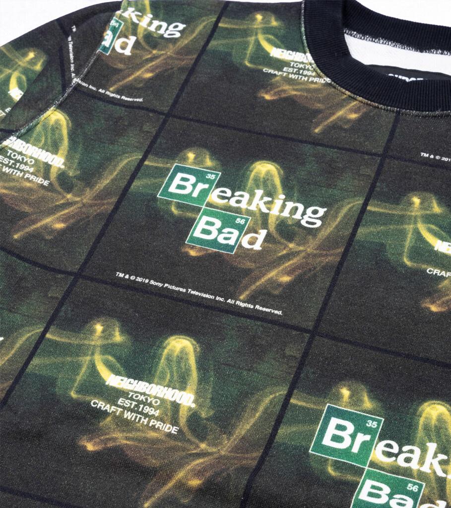 "Breaking Bad AOP Logo Sweatshirt ""Black""-2"
