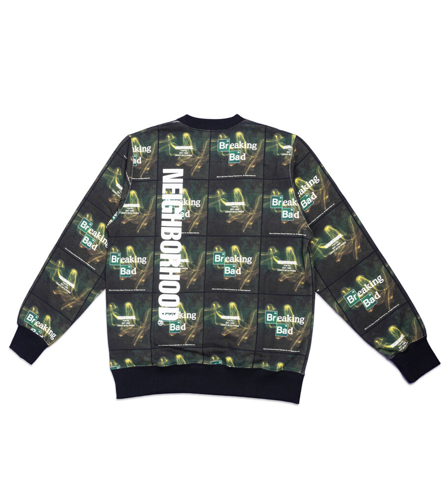 "Breaking Bad AOP Logo Sweatshirt ""Black""-3"