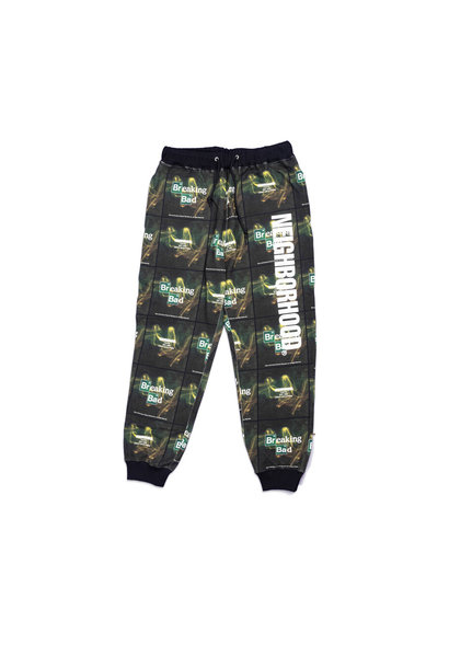 "Breaking Bad AOP Logo Sweatpant ""Black"""