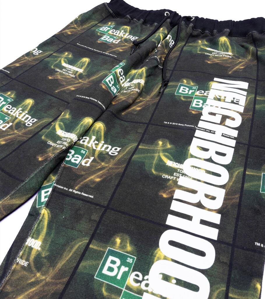 """Breaking Bad AOP Logo Sweatpant """"Black""""-2"""
