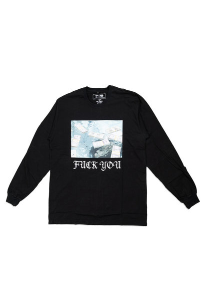 "Breaking Bad F*ck You LS Tee ""Black"""
