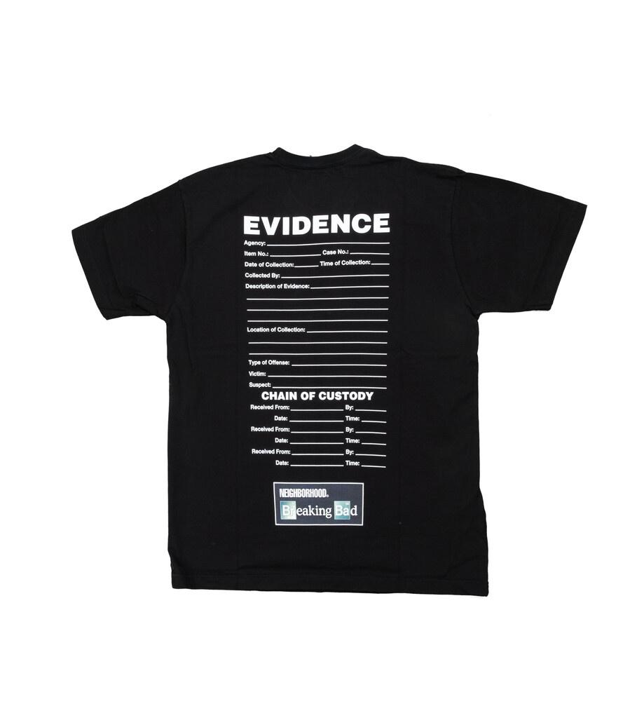 """Breaking Bad Evidence Tee """"Black""""-3"""