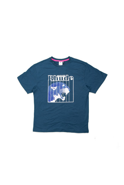 "Rhude Graphic Tee ""Blue"""