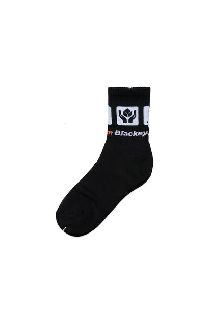 "Handle With Care Socks ""Black/White"""