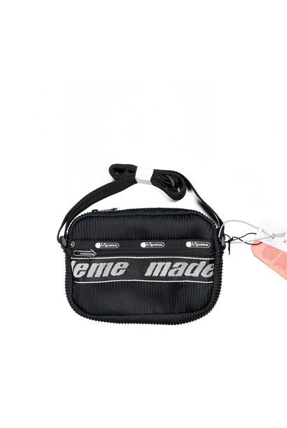 "LeSportsac Lenticular Mesh Cross Body Bag ""Black"""
