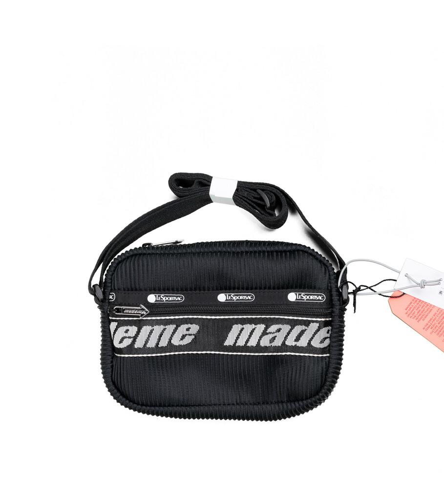"LeSportsac Lenticular Mesh Cross Body Bag ""Black""-1"