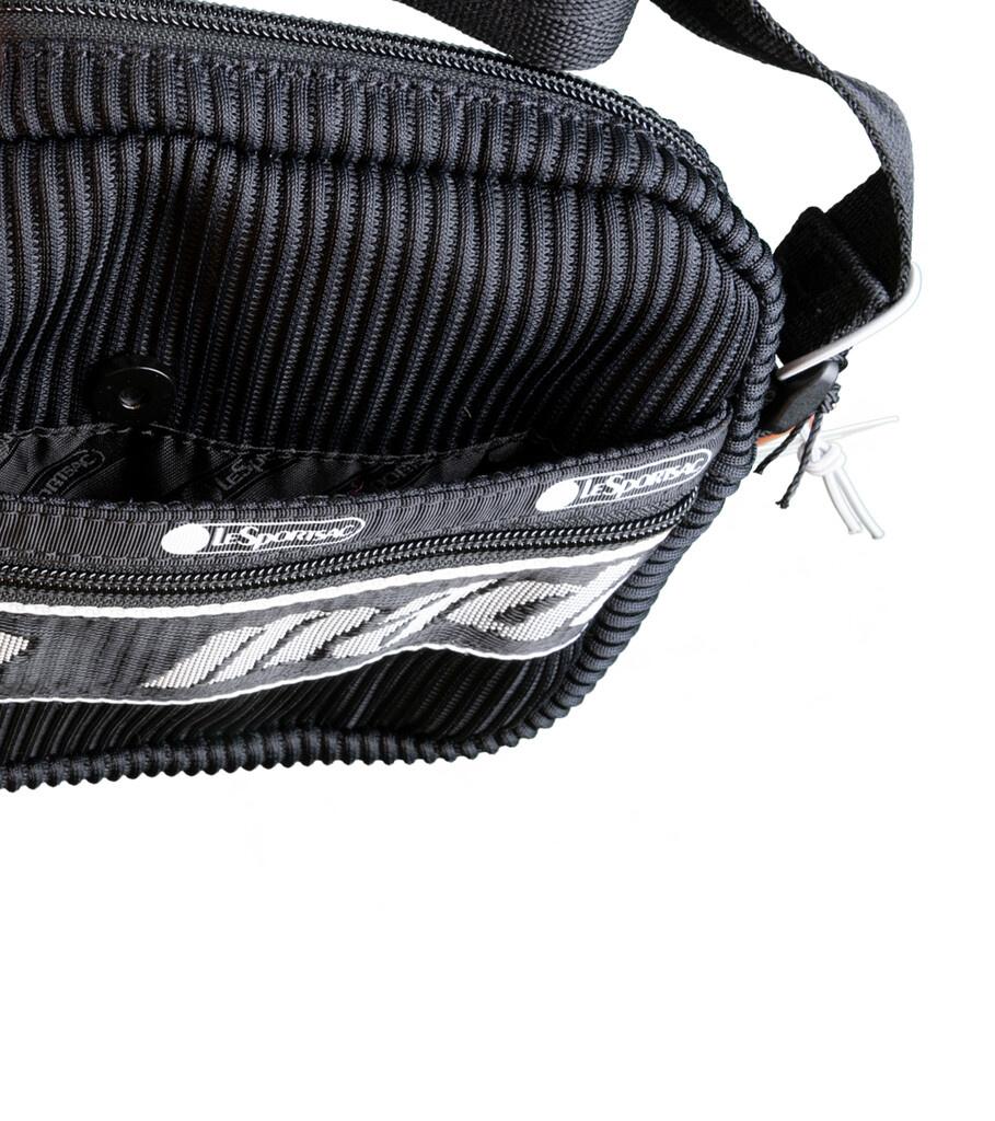 "LeSportsac Lenticular Mesh Cross Body Bag ""Black""-2"