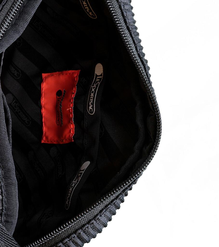 "LeSportsac Lenticular Mesh Cross Body Bag ""Black""-3"