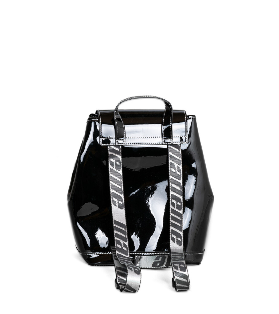 "Backpack ""Patent Black""-2"
