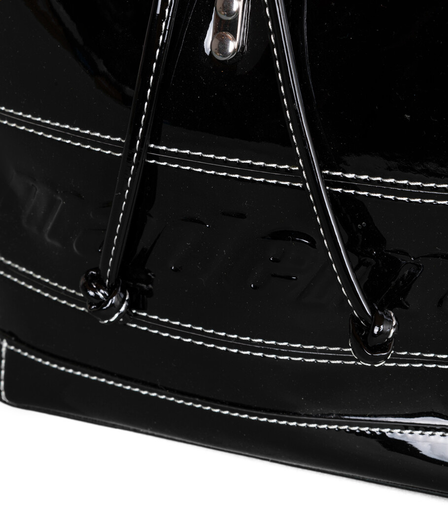 "Backpack ""Patent Black""-3"