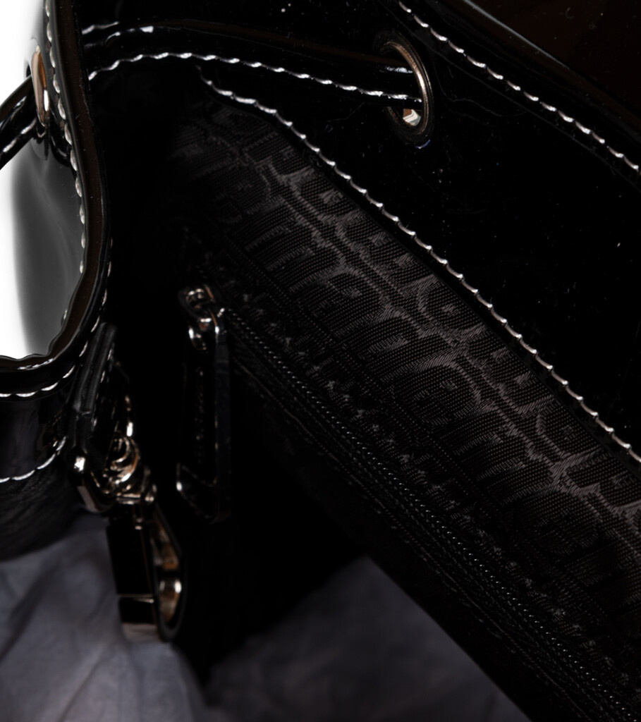 "Backpack ""Patent Black""-4"