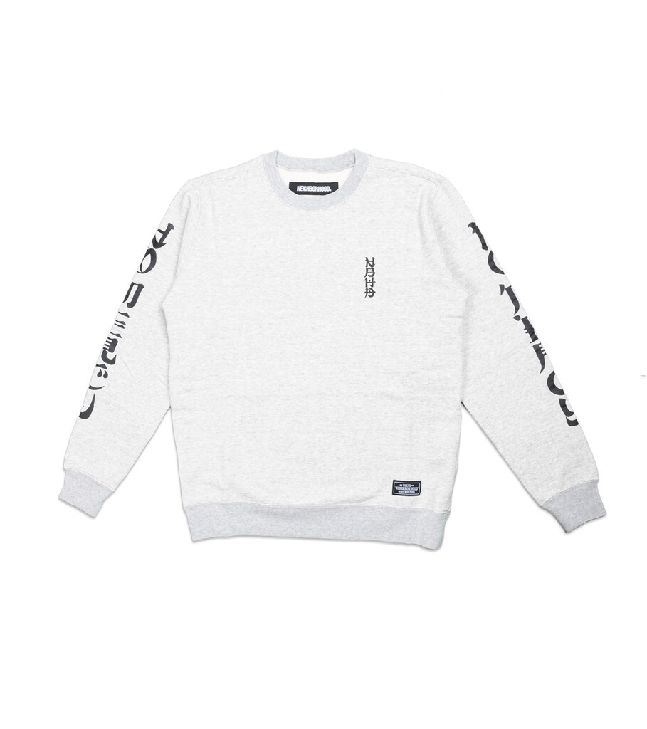 "Classic Sweatshirt ""Grey""-1"