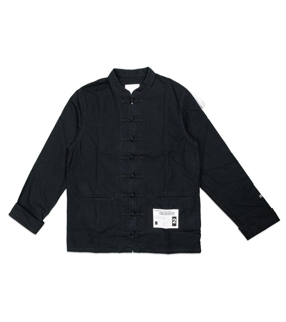 """Kung-Fu Shirt """"Black""""-1"""