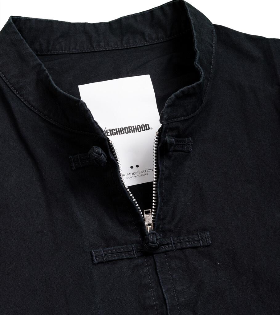 """Kung-Fu Shirt """"Black""""-2"""