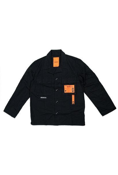 """Military BDU Shirt """"Black"""""""