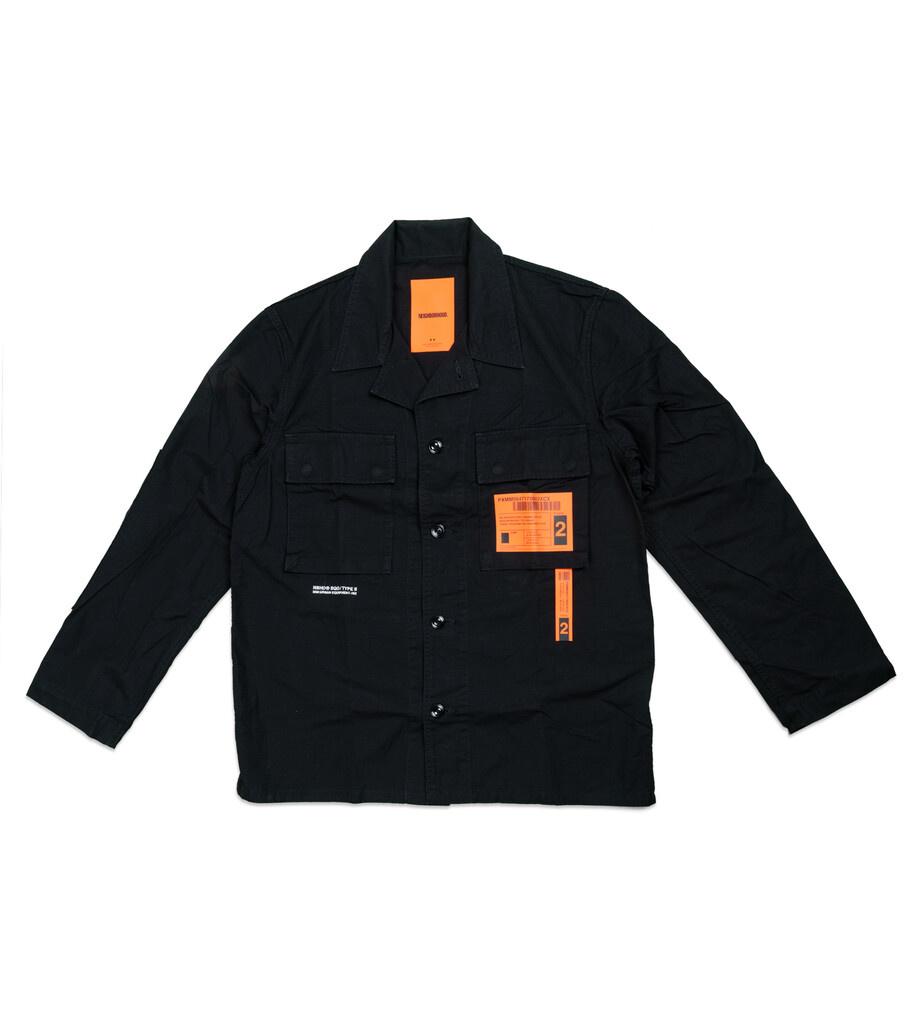 """Military BDU Shirt """"Black""""-1"""