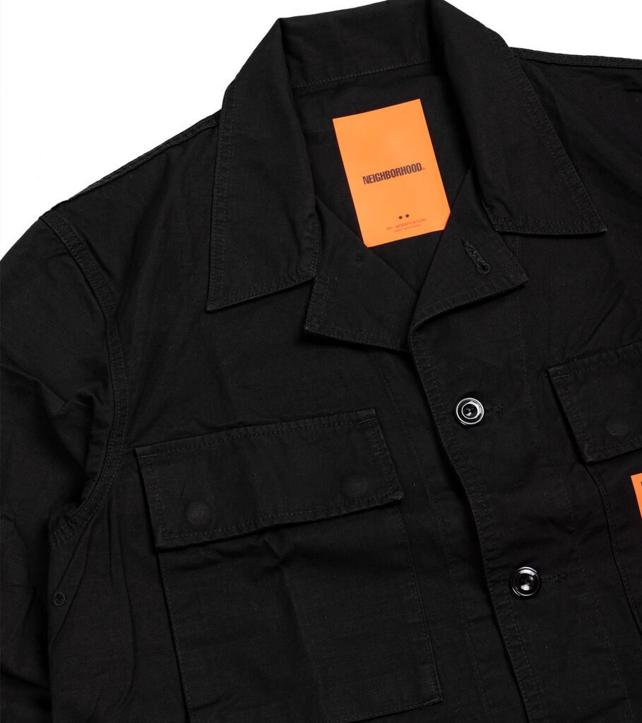 """Military BDU Shirt """"Black""""-2"""