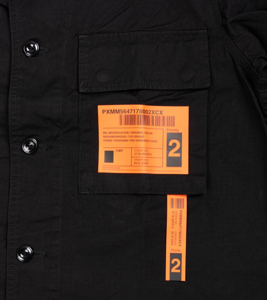 """Military BDU Shirt """"Black""""-3"""