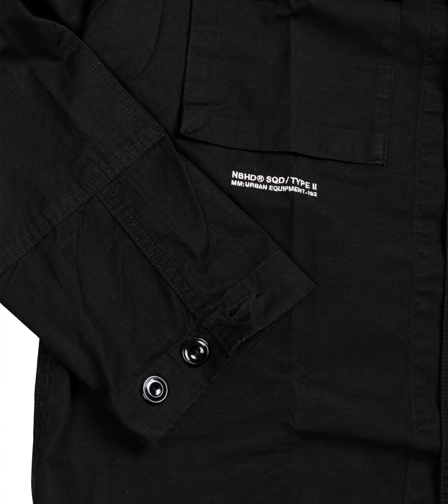 """Military BDU Shirt """"Black""""-4"""