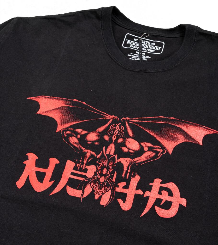 "No Mercy LS Tee ""Black/Red""-2"