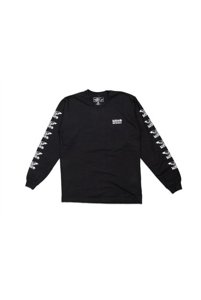 "No Mercy LS Tee ""Black/White"""