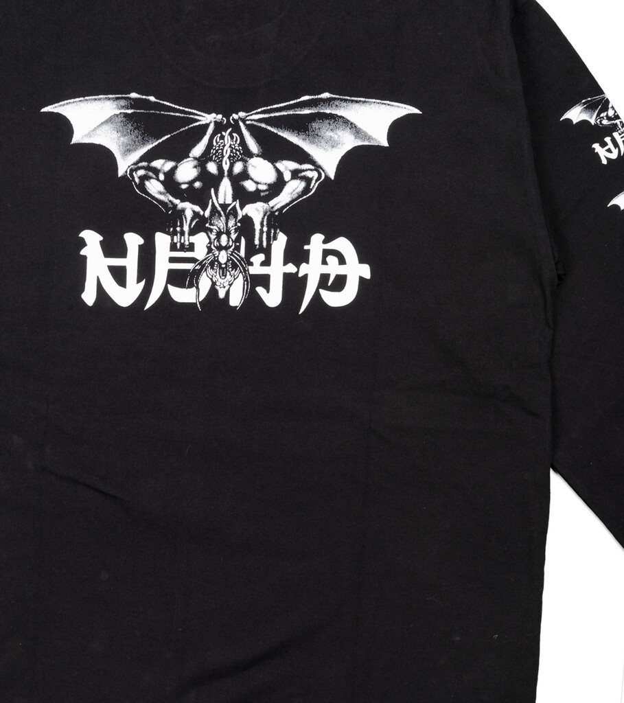 "No Mercy LS Tee ""Black/White""-4"