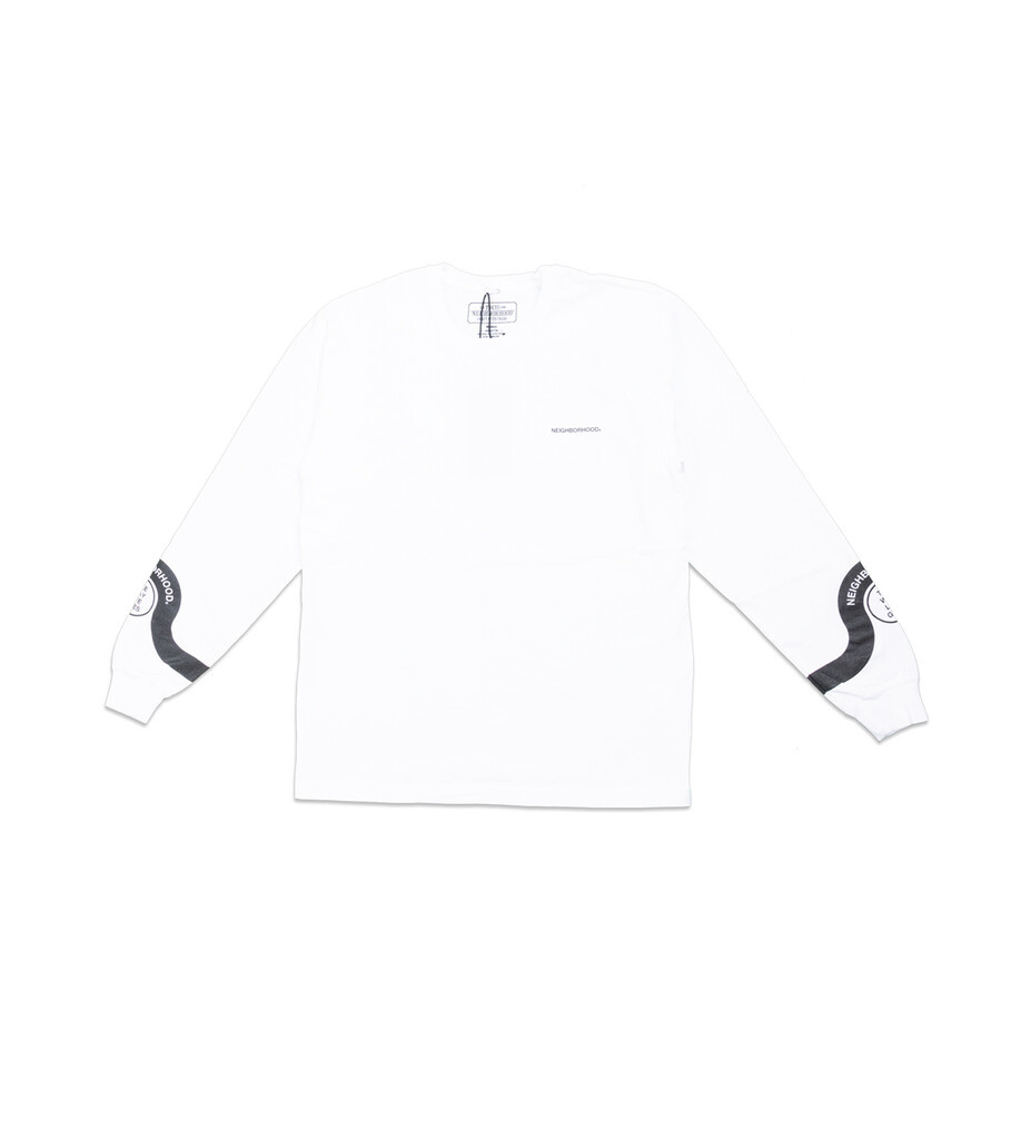 """The Way Life Goes LS Tee """"White""""-1"""