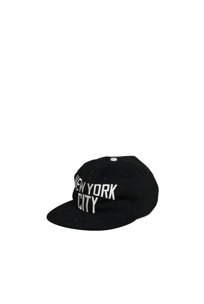 "New York City Strapback ""Black"""