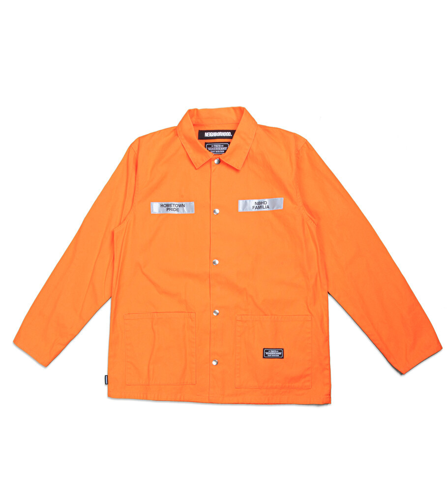 "Coverall CW Jacket ""Orange""-1"