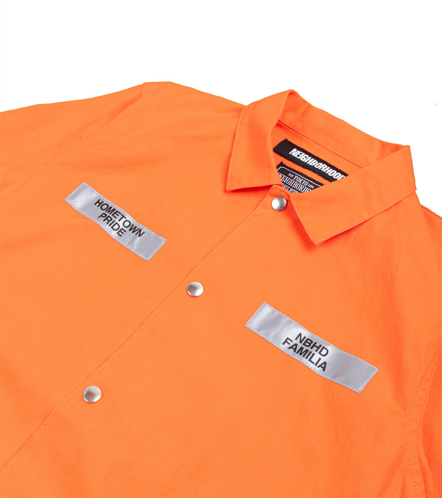 "Coverall CW Jacket ""Orange""-2"