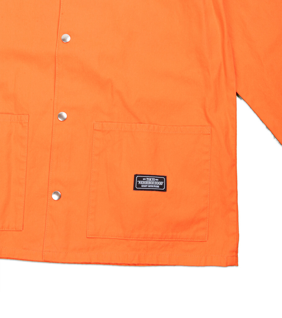 "Coverall CW Jacket ""Orange""-3"