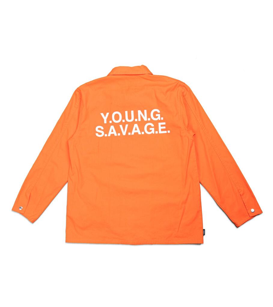 "Coverall CW Jacket ""Orange""-4"