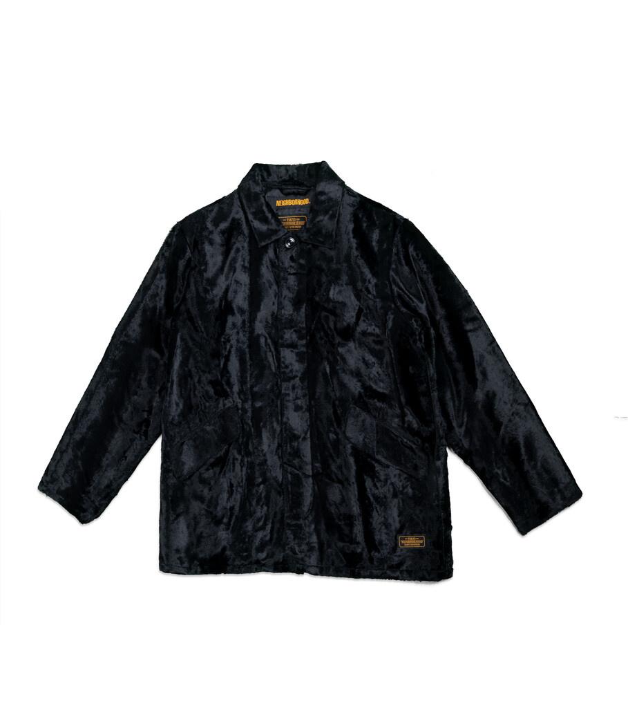 """B.C. Fur Coat """"Black""""-1"""