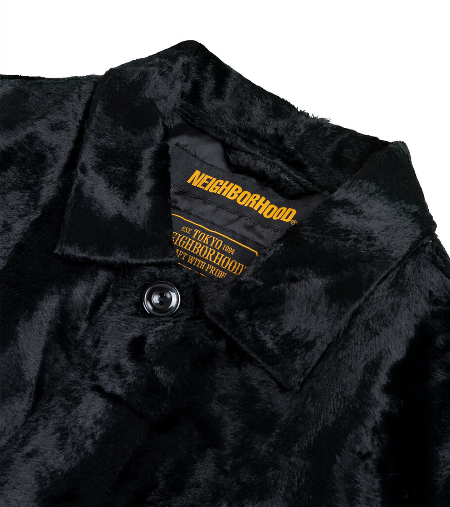 """B.C. Fur Coat """"Black""""-2"""