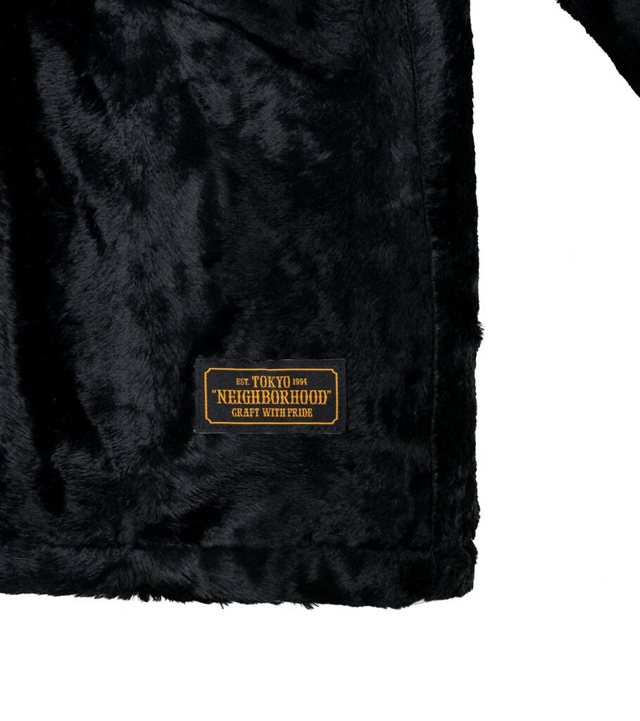 """B.C. Fur Coat """"Black""""-3"""