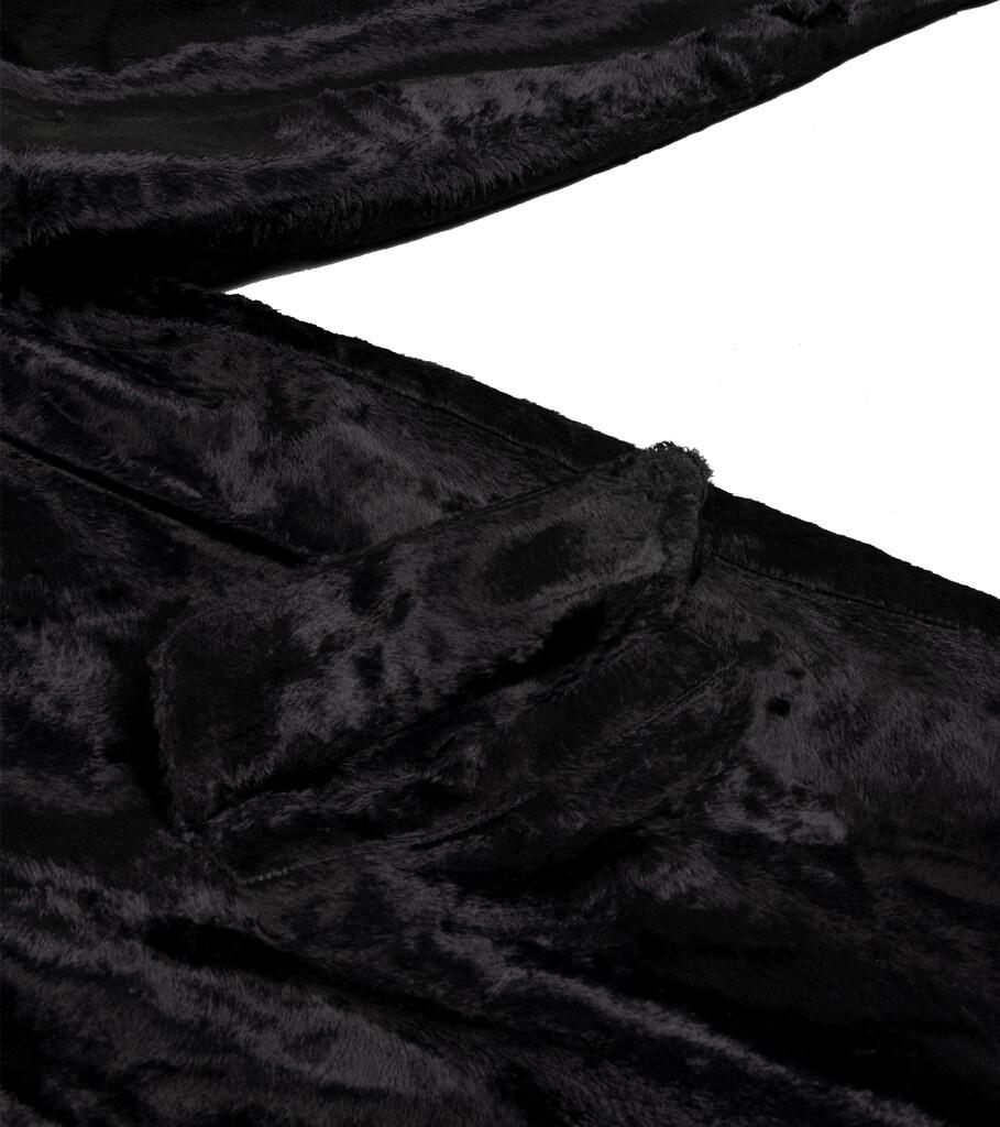 """B.C. Fur Coat """"Black""""-5"""
