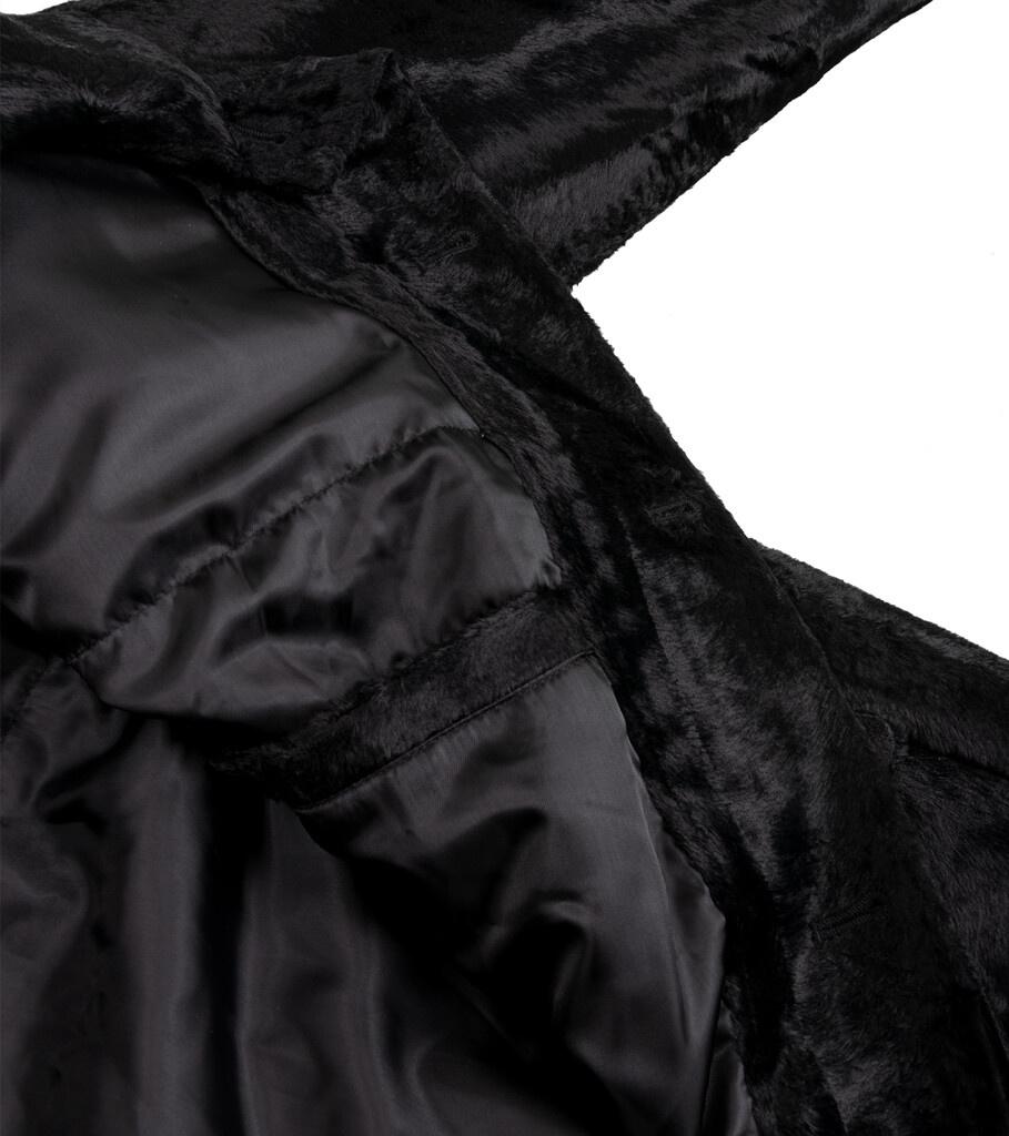"""B.C. Fur Coat """"Black""""-6"""