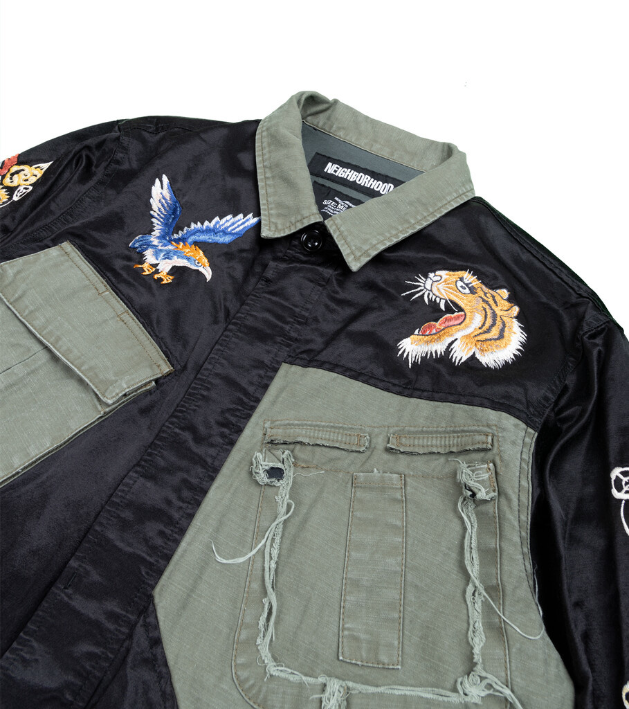"Souvenir Jacket ""Black""-2"