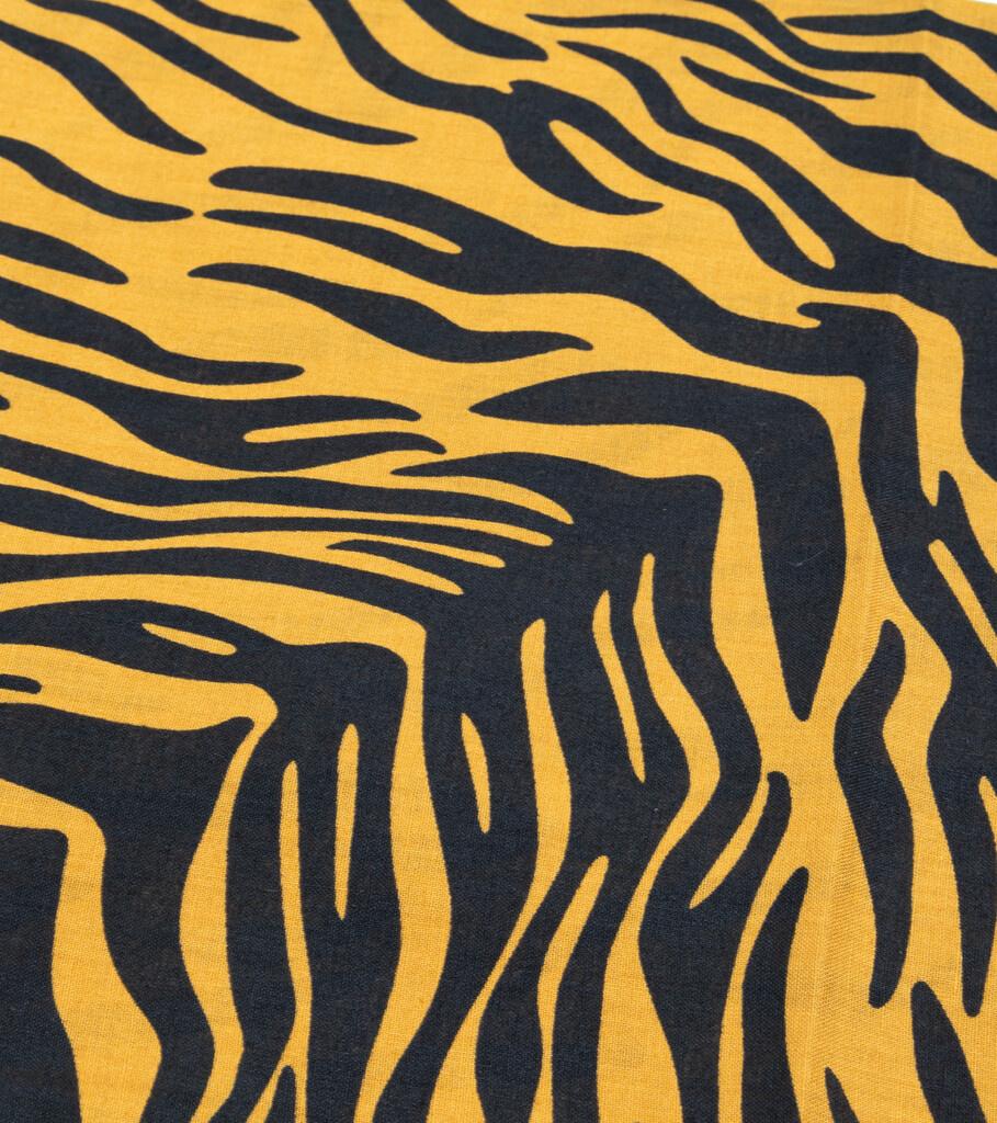"Zebra Bandana ""Gold""-3"