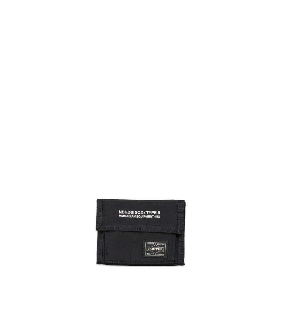 """Yoshida-Porter Tri-Fold Wallet """"Black""""-1"""