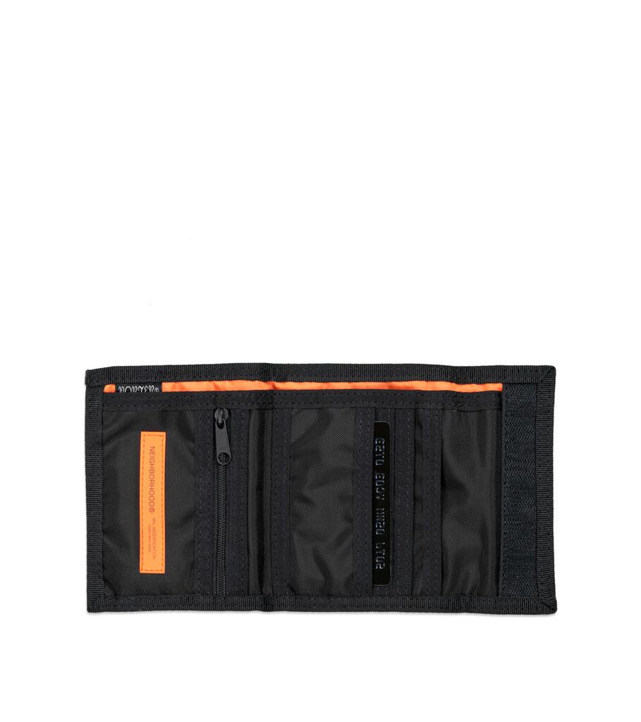 """Yoshida-Porter Tri-Fold Wallet """"Black""""-4"""