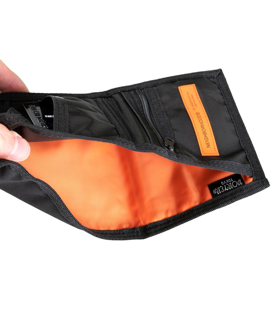 """Yoshida-Porter Tri-Fold Wallet """"Black""""-5"""