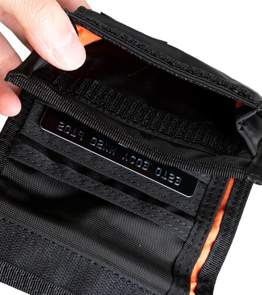 """Yoshida-Porter Tri-Fold Wallet """"Black""""-6"""