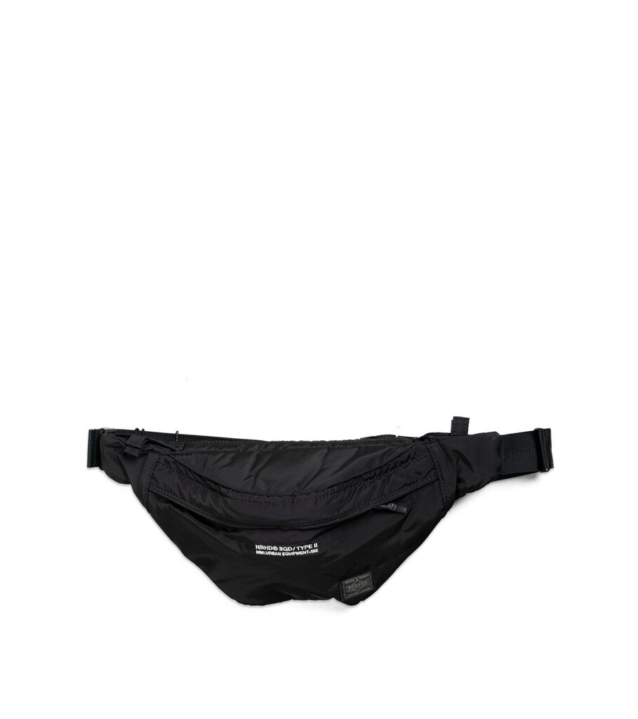 "Yoshida-Porter Waist Bag ""Black""-1"