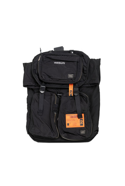 "Yoshida-Porter Military Backpack ""Black"""