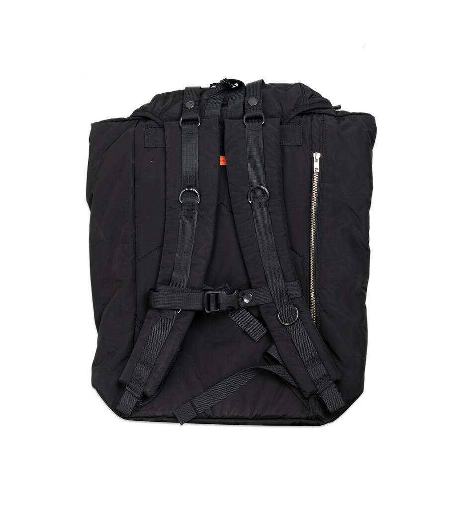"Yoshida-Porter Military Backpack ""Black""-3"