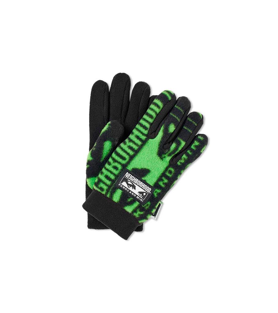 """Perks and Mini Fleece Gloves """"Black""""-1"""