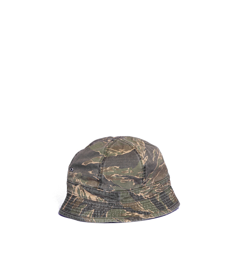 "Military Buckethat ""Tiger Stripe""-3"