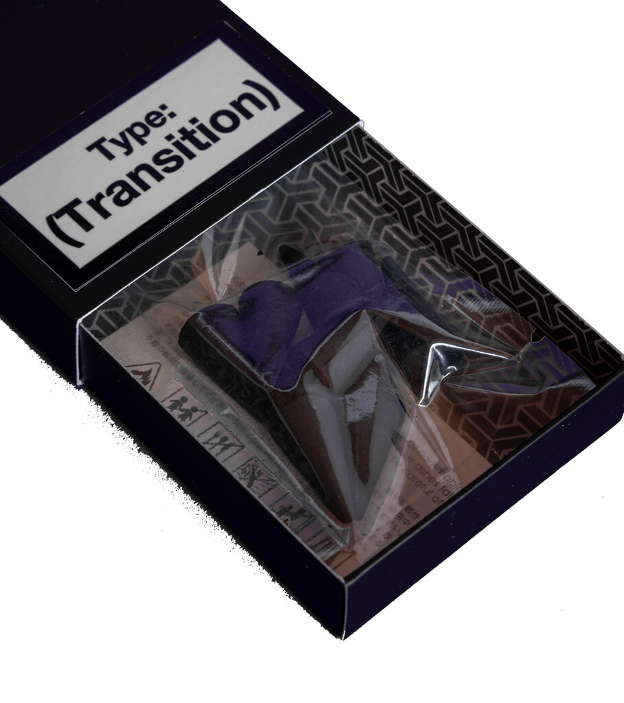 """Transition Cone Shaped Incense """"Clear""""-2"""